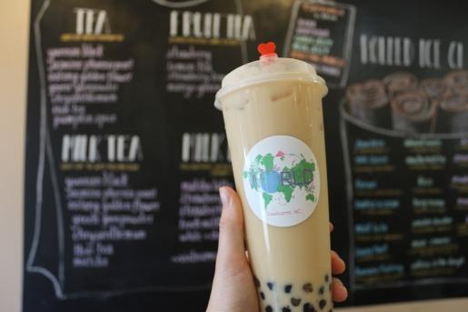 Jasmine Phoenix Pearl Milk Tea